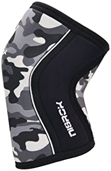 Knee Sleeves (1 Pair), 7mm Neoprene Compression Knee Braces, Great Support for Cross Training, Weightlifting, Powerli...