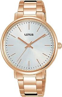 Lorus Womens Analog Quartz Watch with Snakeskin bracelet RG266RX9