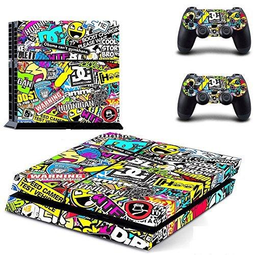 Yosoo® Adesivi Decorativi per Playstation 4 PS4 anche x Controller, Colore Colorato