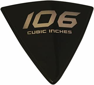 Custom Dynamics GENVICBADGE106R Cheese Wedge Right Side Badge for Victory Vegas