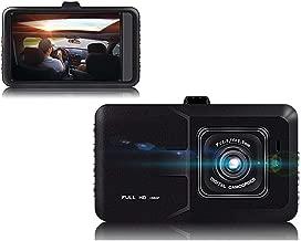XIAOJIE Car Driving Recorder, Single Lens 1080P Hd Car Dvr Dashboard Camera, Night Vision, 24-Hour Surveillance, Reversing Image, Hd Recording