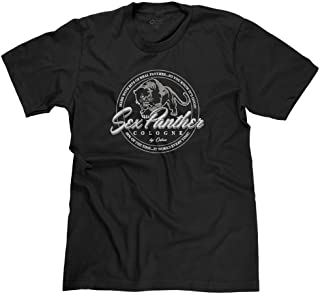 FreshRags Sex Panther Cologne Funny Parody Men's T-Shirt