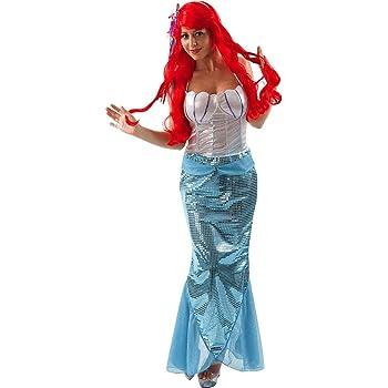 Disfraz de Sirena para Adulto: Amazon.es: Ropa y accesorios