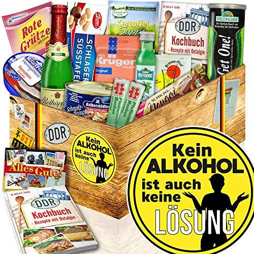Kein Alkohol + Freund Geschenk + DDR Produkte