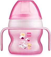 MAM Starter Cup, Sippy Cups for Toddlers with Handles, Girl, 5 Ounces, 1-Count