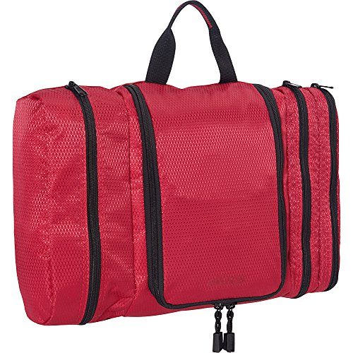 eBags Pack-it-Flat Large Hanging Toiletry Bag and Kit - (Raspberry)
