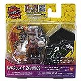 World of Zombies Zombies-44271 Pack de Dos U.S.Z. Cowboy y Figura Sorpresa (Bandai 44271), Multicolor