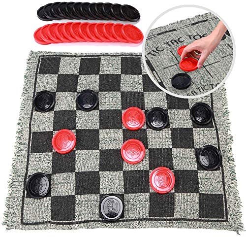 Our #5 Pick is the OleOletOy Super Tic Tac Toe and Giant Checkers Set