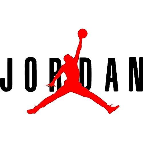 reputable site 3afbf b9c15 AIR Jordan Flight 23 Jumpman Logo NBA Huge Vinyl Decal Sticker for Wall Car  Room Windows