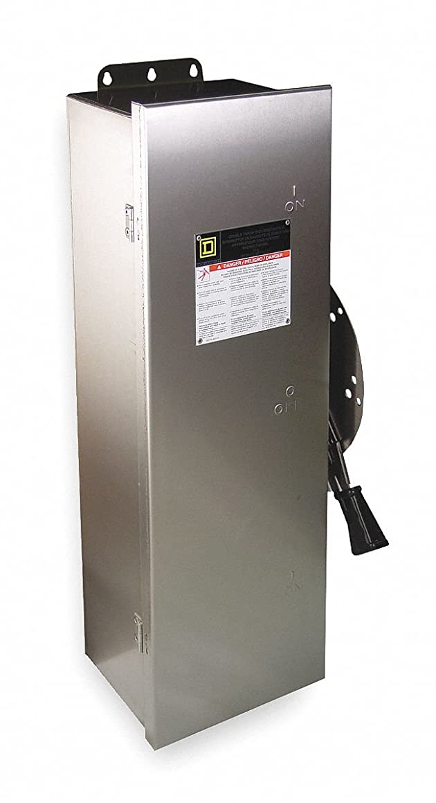 Safety Switch, 12 NEMA Enclosure Type, 60 Amps AC, 50 HP @ 600VAC HP