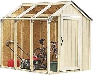 Rabinyod Bulan Peak Roof Shed Storage Kit Wood Outdoor Hardware Metal Brackets Steel Framing