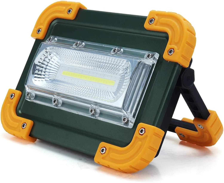 Strahler Led Flutlicht 30W 4-Modus Tragbares Flutlicht Spotlight 2000Lm Wasserdichtes Wiederaufladbares Auenlicht