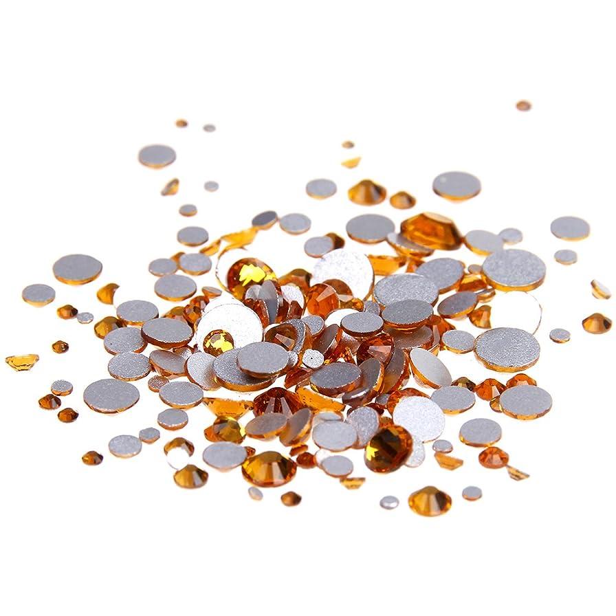 表示主要な反対するNizi ジュエリー ブランド トパーズ ラインストーン は ガラスの材質 ネイル使用 型番ss3-ss34 (SS30 288pcs)
