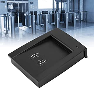Nannday RFID Reader Writer, 125-134.2KHZ Portable RFID Reader Writer with LED USB for FDX-A FDX-B Chips Entrance Guard Access Control System Used