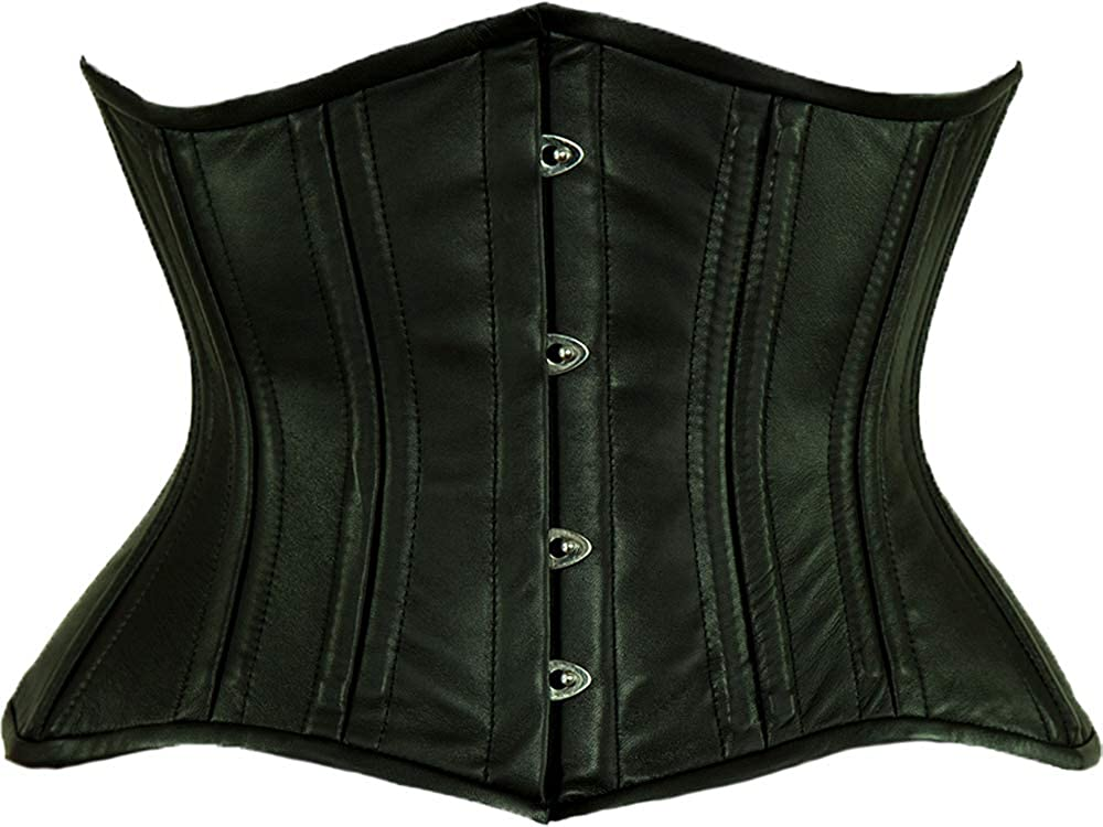 Orchard Corset OFFicial mail order Low price CS-426 Standard Womens Steel Leather Bo Underbust