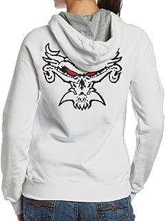 Women Brock Lesnar Fear The Fury Logo Hooded Sweatshirt Funny Back Prints Best Hoodie