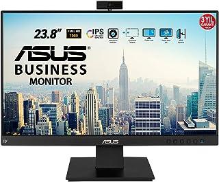 "Asus BE24EQK - Monitor de negocio de 23.8"" (Full HD, IPS, sin marco, antiparpadeo, luz azul de baja intensidad, cámara Ful..."