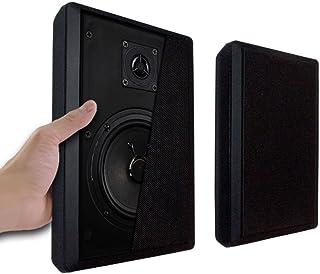 壁掛フラットスピーカー超薄型【Wall Speakerブラック】