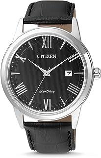 Citizen Orologio Analogico Quarzo Uomo con Cinturino in Pelle AW1231-07E