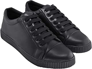 Blinder Men's Black Grey Casual Lace-Up Sneakers Shoes on Amazon.in