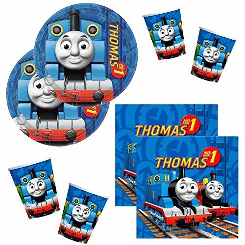 Thomas y sus amigos Establecer Vajilla Desechable Platos Tazas Servilletas