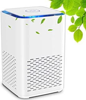 HAUEA Air Purifier for Home Compact Desktop Purifiers Filtration with True HEPA Filter Low Noise Portable Air Cleaner for ...