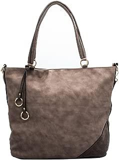 JOYISM Women Handbags Hobo Bags Top Handle Satchel Handbags PU Leather Shoulder Bags Messenger Bag
