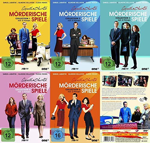 Agatha Christie - Mörderische Spiele – Staffel 1 2 3 4 5 – TV-Serie 10 DVD Collection