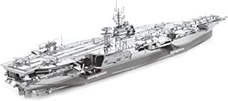 Fascinations Metal Earth ICONX USS Theodore Roosevelt CVN-71 3D Metal Model Kit