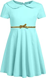 old fashioned blue dress