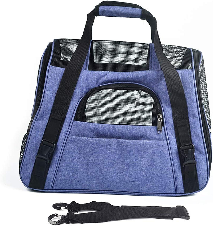 Pet Backpack Cat Dog, Handbag Shoulder Bag Carrier,Portable,Breathable,for Outdoor Travelling Cycling Hiking,46  23  35cm