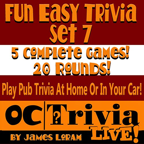 Fun Easy Trivia Set 7 audiobook cover art