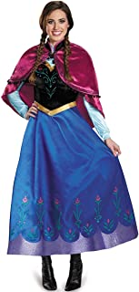 AA2 Adult Anna Winter Dress Halloween Costume Cosplay Party PXS-PL USA