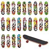 THE TWIDDLERS 24 Mini Diapasón - Kit De Embarque del Patin - Finger Skateboards | Juguete Tableros del Dedo para Niños| Cumpleaños Regalo | Bolsas Fiesta