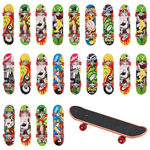 24 Stück Mini Finger Skateboards