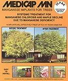 MediCap 25MN Systemische Mangan Baum Implantaten zur Steuerung von Mangan chlorose, 3/8