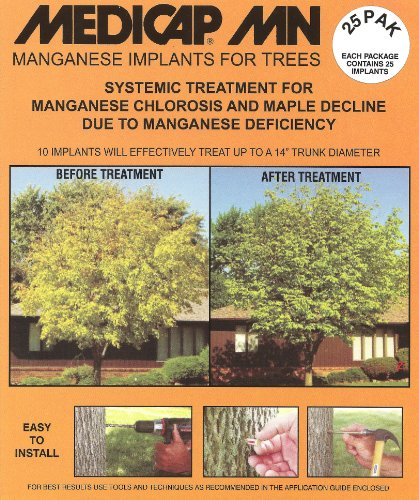 Acecap 75-Pack Systemic insecticide Arbre implants for Control of tree parasites