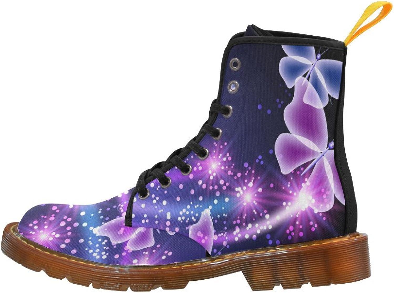 Ton fantasme, le Papillon lila, la fille cool, la toile, toile, toile, les bottes de Martin.  otroliga rabatter