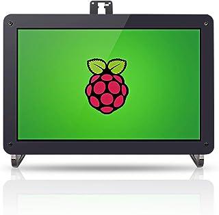 Raspberry Pi 3 Screen 10.1'' IPS - SunFounder 10.1 Inch HDMI IPS LCD Monitor Display High Resolution 1280×800 Camera Holde...