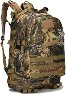 Waterproof Oxford Camping Outdoor Sports Army Tactics Backpack-Maple Leaf Camouflage