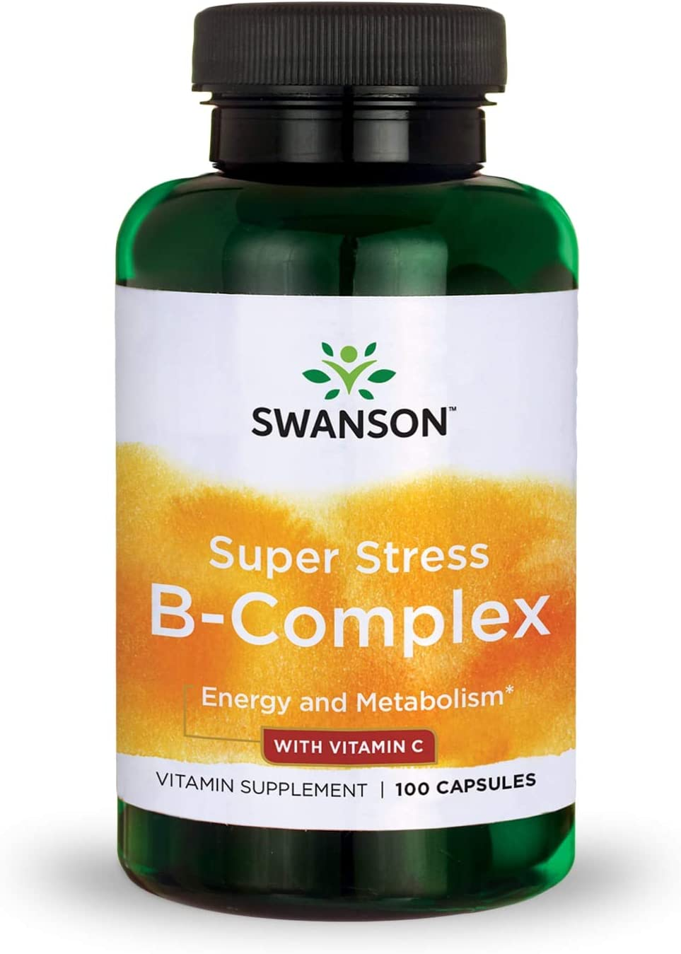 Swanson B Vitamin Stress Complex with En C In stock Outlet ☆ Free Shipping Relief