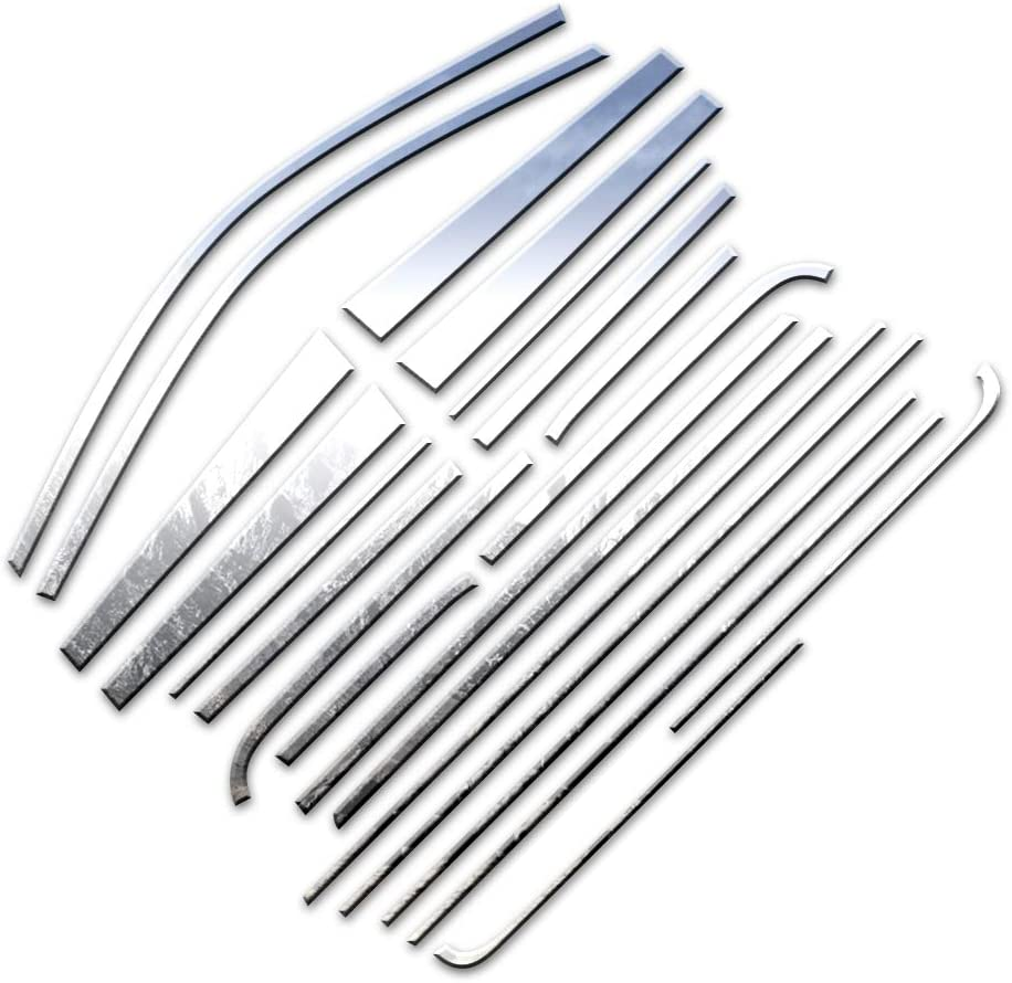 Brighter Design Price reduction Very popular! 22p Chrome Window Package fit for w Sill Posts