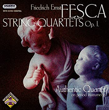Fesca: String Quartets Op. 1