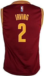 Outerstuff Kyrie Irving NBA Cleveland Cavaliers Road Wine Player Replica Jersey Youth S-XL