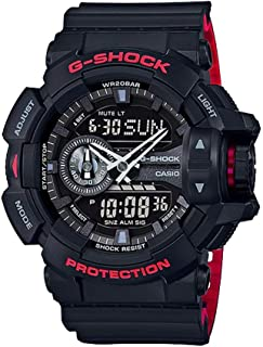 Casio G-Shock GA-400HR Black/Red Layer Series - Black/One Size
