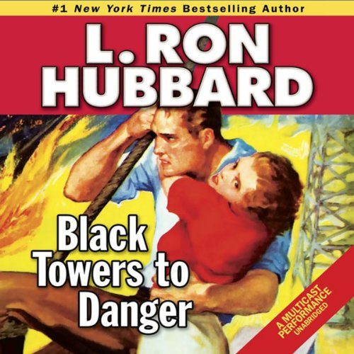 Black Towers to Danger  audiobook cover art