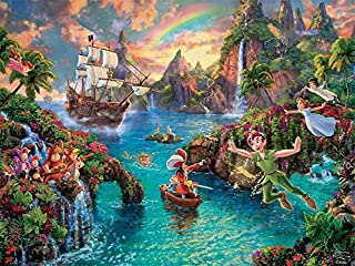 Ceaco The Disney Collection - Peter Pan Puzzle by Thomas Kinkade Puzzle (750 Piece)