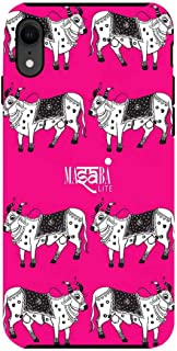 Macmerise IPCIXRTMS1226 Masaba Cow Print - Tough Case for iPhone XR - Multicolor (Pack of1)