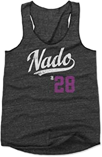 500 LEVEL Nolan Arenado Women's Tank Top - Colorado Baseball Women's Apparel - Nolan Arenado Nado Players Weekend
