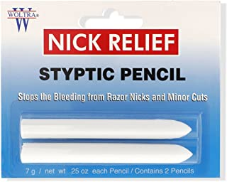 Clubman Woltra Styptic Pencil Small Twin Pk. (Blister), 0.25 oz